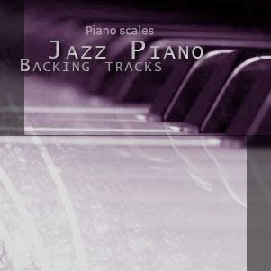 Jazz Scales backing tracks album cover